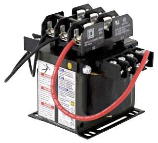 SQD 9070TF250D5 TRFMR CONTROL 250VA 600V-120V