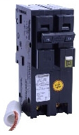 SQD HOM220CAFI 2P 120/240V PLUG-ON CIRCUIT BREAKER
