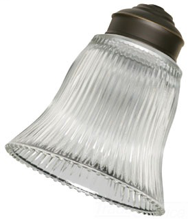 EMN G26 ( 4 PER SET ) CLEAR RIBBED GLASS