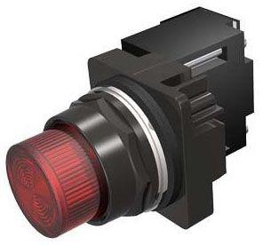 SIEM 52BL4G2 PILOT LIGHT RED XFMR INC 120V