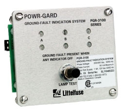 LIF PGR-3100 GRND FAULT IND SYS