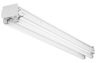 Fluorescent Strip Lighting Fixture
