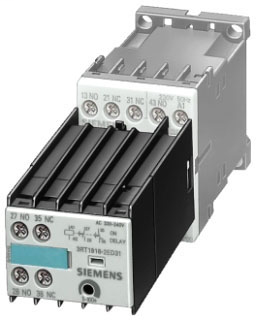 SIEM 3RT1916-2EC21 TIMER ON-DELAY 120V 0.5-10SEC
