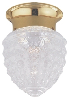 SEG 5305-02 CLOSE TO CEILING ONE LIGHT POL DISCONTINUED