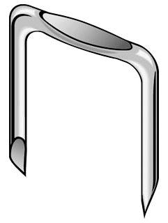 MIN I12A 9/16 ROMEX STAPLE (100/BOX)