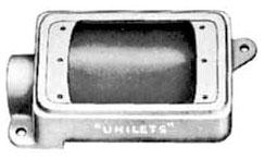 APP FD175 3/4 MALL FD BOX 1 GANG