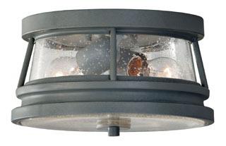MURF OL8113STC 2-LIGHT OUTDOOR FLUSH MOUNT 2- E 60 WATT