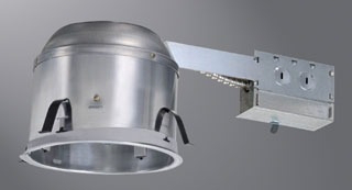 "HALO H27RICAT 6"" HOUSING SHALLOW CEILING IC AIR-TITE REMODEL 120V"