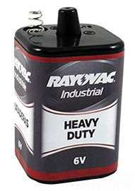 RAYO 944C 6V HD IND LANTERN BATTERY SPRING TERMINAL