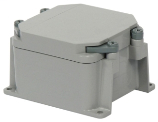 SCE 277000 4X4X2 PVC JUNCTION BOX