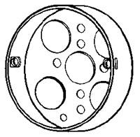 NEER 4CL 4-IN CEILING PAN