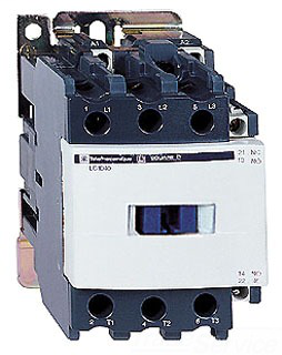 SQD LC1D65G7 65A 127V CONTACTOR