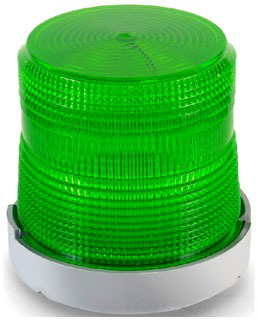 EDW 48XBRMG120A LED,STEADY OR FLASHING,GREEN GREEN 120V AC