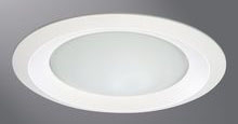 HALO 6150WH RECESSED TRIM WHITE SHOWER.