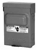 SIEM WN2060 36030 DISC 60AMP NON-FU ED 240VOLT 10HP TOP 500 ITEM