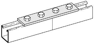 BLI B341-GRN 4H SPLICE PLATE