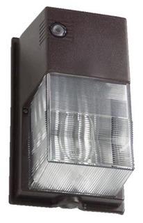 HUBL NRG307B-PC BRZ 70HPS 120V WALL PACK W/PHOTO EYE