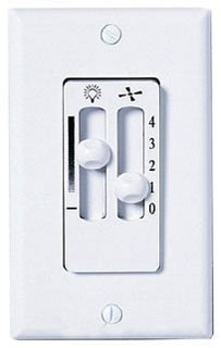 EMN SW90W WHITE 4 SPEED WALL FAN CONTROL SW