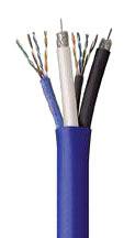 RG6USMART500 2-RG6 & 2-CAT5E SMART CABLE COLEMAN PART# 99270-95-06 GENESIS 5050-5003