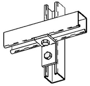 Bline strut B613 B613ZN column support brackets qty 10