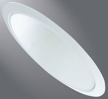 HALO 456W WHITE BAFFLE TRIM