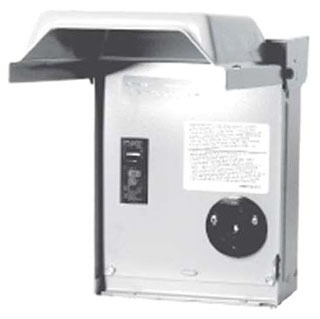 MWP U013C POST MTR PWR OUTLET