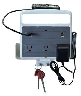 USB/Multi-Outlet Charging Station