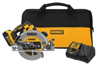 DWLT DCS570P1 20V MAX BRUSHLESS 7 1/4 CIRC SAW KIT