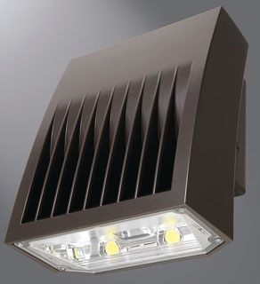 LUM XTOR8B CROSSTOUR LED WALL PACK FULL CUTOFF 80W 5000K 120-277V BRNZ