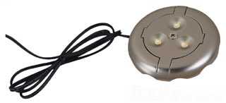 SEA 98859SW-986 12V LED SINGLE LIGHT DISK TINTED