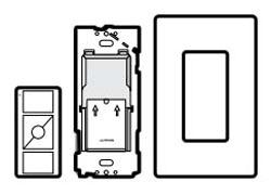 Wireless Lighting Control Wall Mount Kit