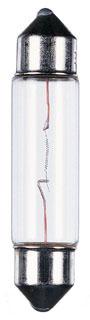 AMB 97119-32 FESTOON LAMP 10W CLEAR 12V