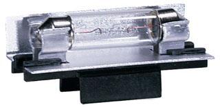 AMB 9830-12 LX LINEAR LAMPHOLDER - BLACK