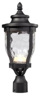 MINK 8766-66-L MERRIMACK 1 LIGHT LED POST MOUNT