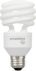SYL CF23EL/SPIRAL/841 T2 23W COMPACT FLUOR SPIRAL LAMP 4100K 26358