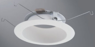"HALO 592W 5"" LED TRIM WHITE RELECTOR & FLANGE"