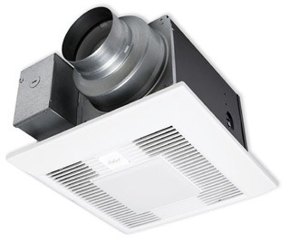 PAN FV05-11VKSL1 ( PHASE OUT ) SELEC 50-80-110 CFM WHISPERGREEN FAN/LED LIGHT W/DC MOTOR (LED LAMPS INCLUDED)