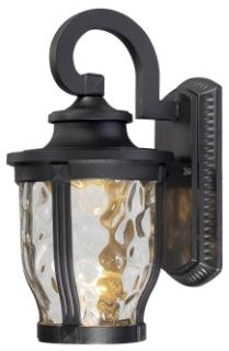 MINK 8761-66-L MERRIMACK 1 LIGHT LED WALL MOUNT BLACK