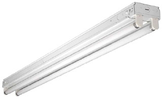 Fluorescent Strip Light Fixture