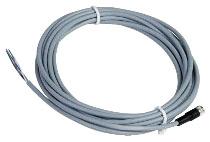 SQD XZCPV0941L5 CORDSET PVC FEMALE M8 STRAIGHT 4W