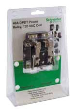 SQD 8501CDPDT OPEN POWER RELAY 120VAC DPDT