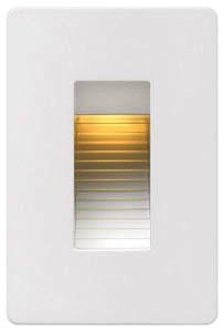 """HINK 58504SW LUNA STEP LIGHT LED VERTICAL 3"""" X 4.5"""""""