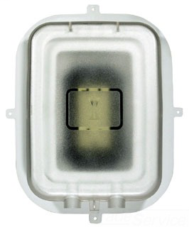 INTM WP1000RC SINGLE GANG RECESSED VERTICAL IN-USE COVER