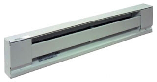 TPI H2906-036S-WH 3' 600W 240V WHITE BASEBOARD