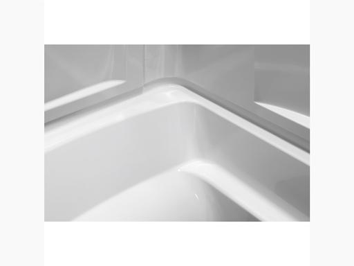 "Ensemble™ Medley®Series 7132, 60"" x 32"" Bath/Shower With Above-Floor Drain"