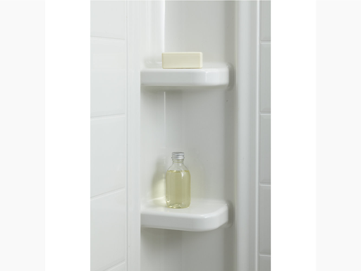 """Ensemble™Series 7112, 60"""" x 32"""" Bath/Shower With Above-Floor Drain"""