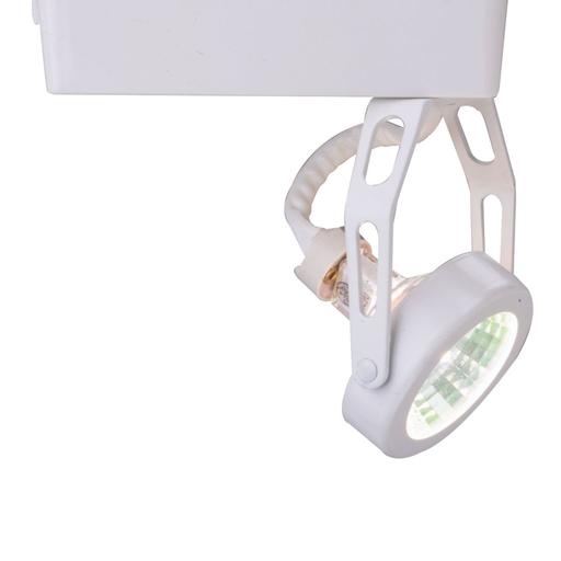 Mayer-LAZER LOW VOLTAGE GIMBAL RING, ELECTRONIC TRANSFORMER, WHITE, MR16-1