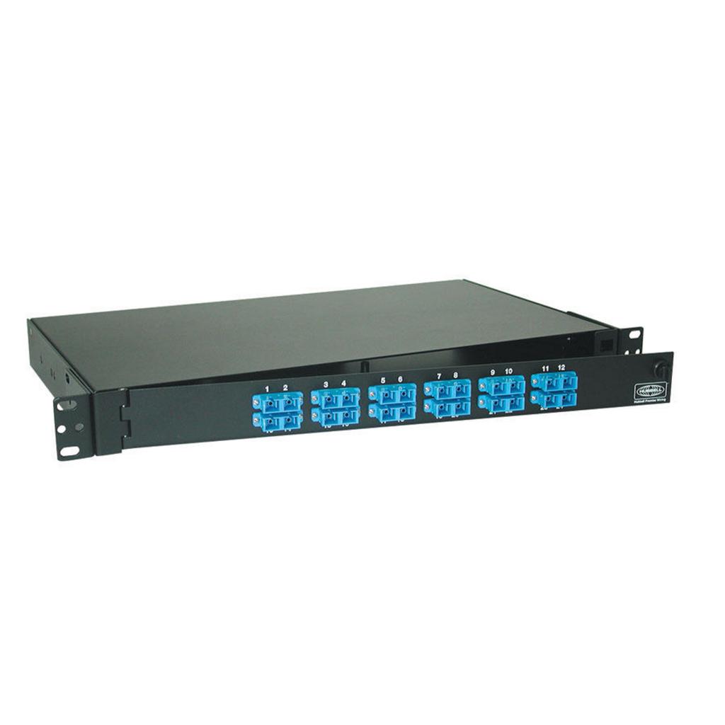 HCI FPR024SCM FIBER, RACKMNT PNL,W/