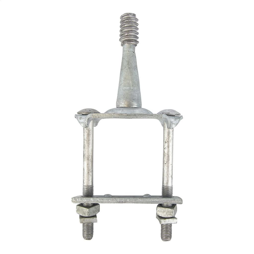 Hubbell Power 143221 1-3/8 Inch Hot Dip Galvanized Steel Insulator Crossarm Pin