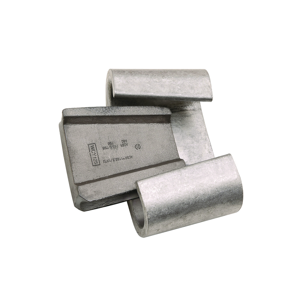 BURNDY WCY99 CONNECTOR, WEDGE TAP,1033.5 ACSR TO 1/0 ACSR